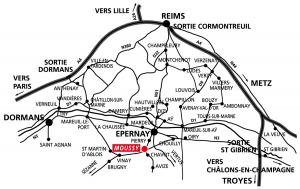 Champagne Jean Michel - Plan d'accès