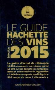 couverture du guide Hachette des vins 2015